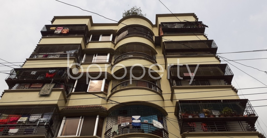 Front view - 3 Bed Apartment for Sale in Uttara, Dhaka - 1941665