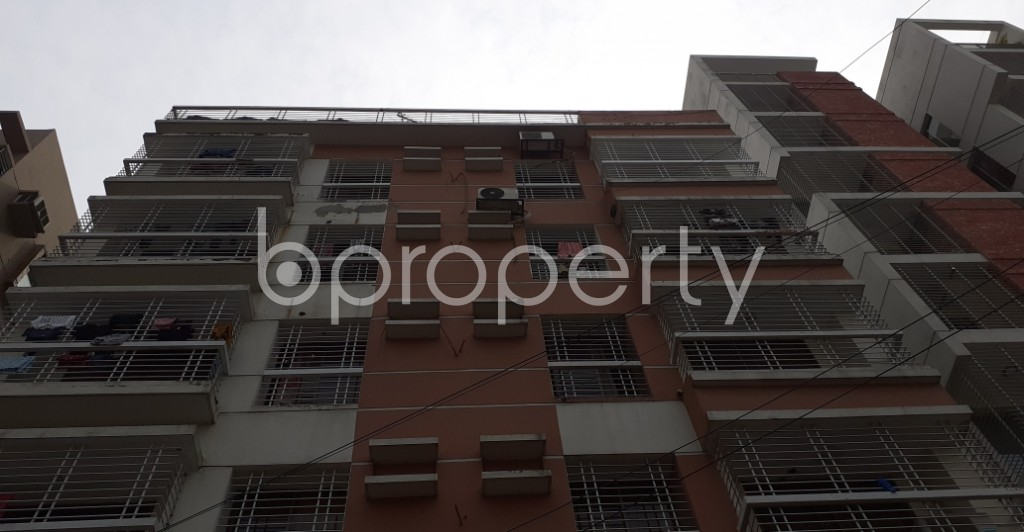 Front view - 3 Bed Apartment for Sale in Bashundhara R-A, Dhaka - 1941684
