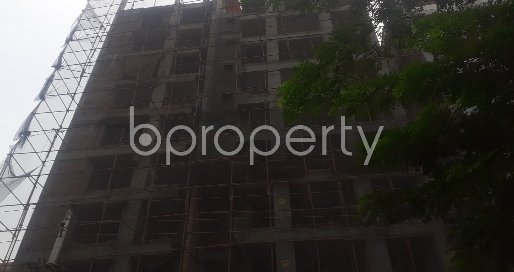 Front view - 4 Bed Apartment for Sale in Mohammadpur, Dhaka - 1941689