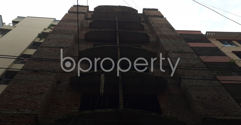 Front view - 3 Bed Apartment for Sale in Mohammadpur, Dhaka - 1941693