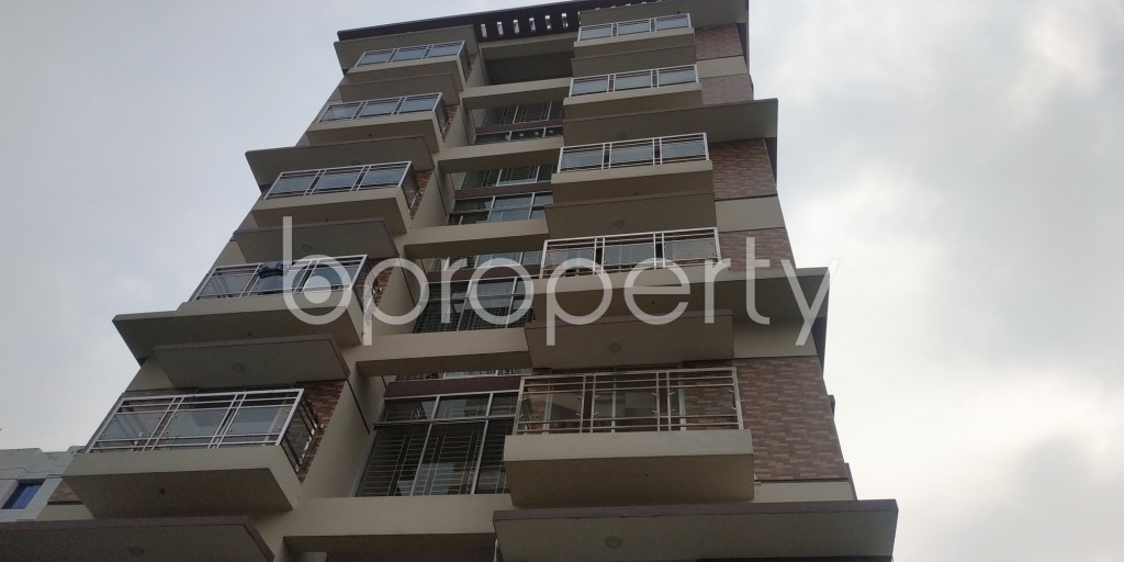 Front view - 3 Bed Apartment for Sale in Bashundhara R-A, Dhaka - 1941420