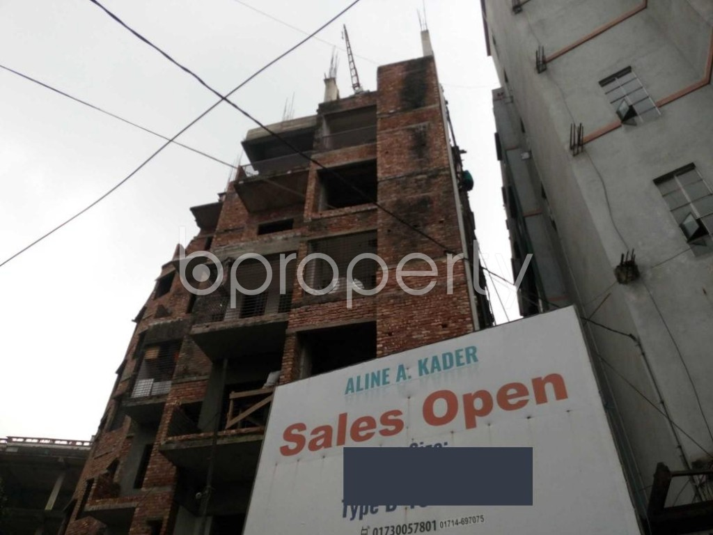 Front view - 3 Bed Apartment for Sale in Mirpur, Dhaka - 1941844