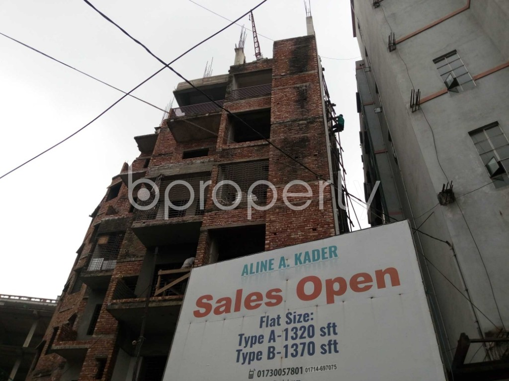 Front view - 3 Bed Apartment for Sale in Mirpur, Dhaka - 1941861