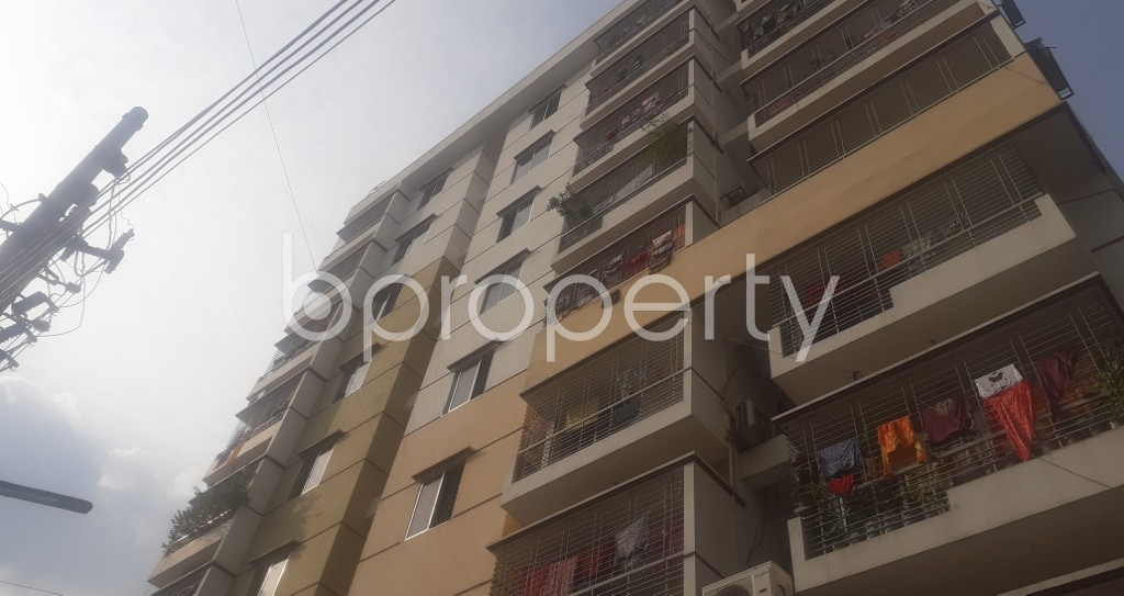 Front view - 3 Bed Apartment for Sale in Mohammadpur, Dhaka - 1941979