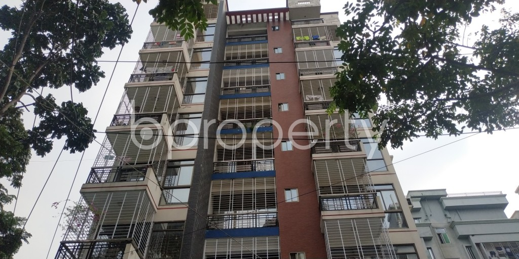 Front view - 3 Bed Apartment for Sale in Bashundhara R-A, Dhaka - 1942044