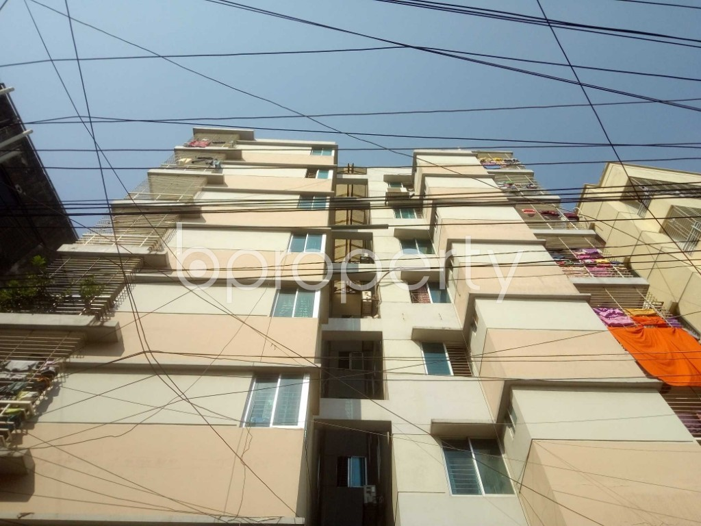 Front view - 3 Bed Apartment for Sale in Mirpur, Dhaka - 1942366
