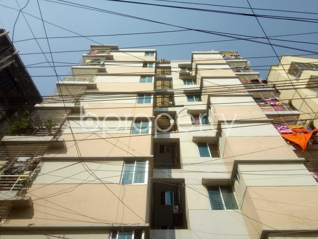Front view - 3 Bed Apartment for Sale in Mirpur, Dhaka - 1942367
