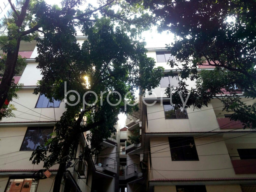Front view - 3 Bed Apartment for Sale in Banani, Dhaka - 1942377