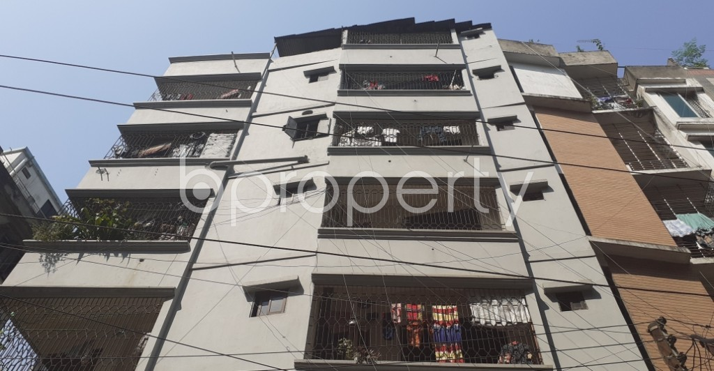 Front view - 3 Bed Apartment for Sale in Mohammadpur, Dhaka - 1942389