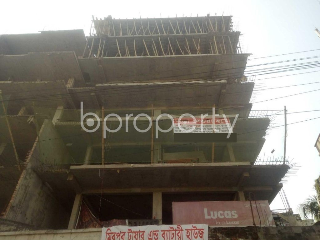 Front view - 3 Bed Apartment for Sale in Mirpur, Dhaka - 1942460
