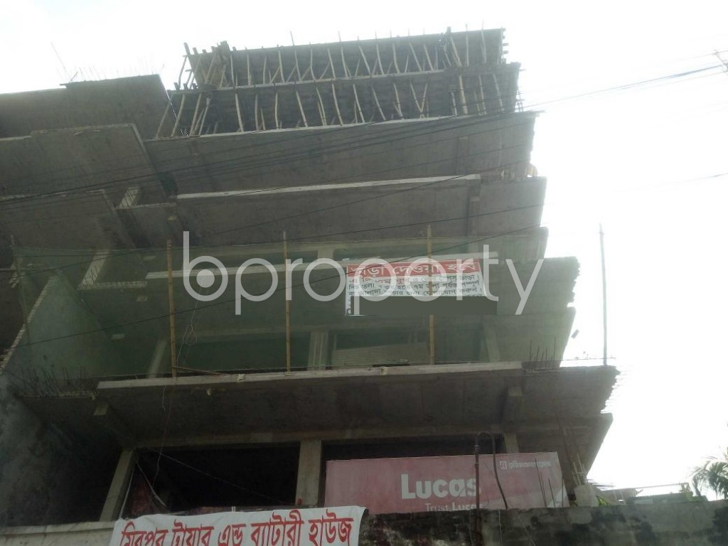 Front view - 3 Bed Apartment for Sale in Mirpur, Dhaka - 1942462