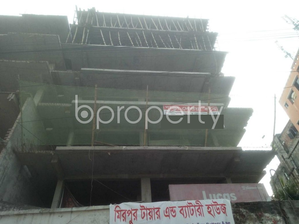 Front view - 3 Bed Apartment for Sale in Mirpur, Dhaka - 1942464
