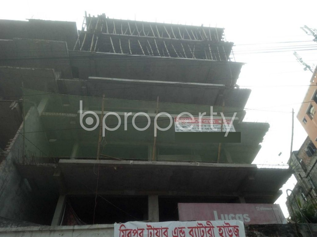 Front view - 3 Bed Apartment for Sale in Mirpur, Dhaka - 1942465