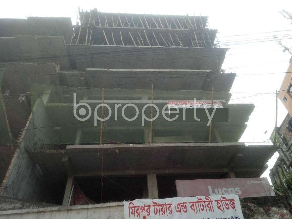 Front view - 3 Bed Apartment for Sale in Mirpur, Dhaka - 1942467