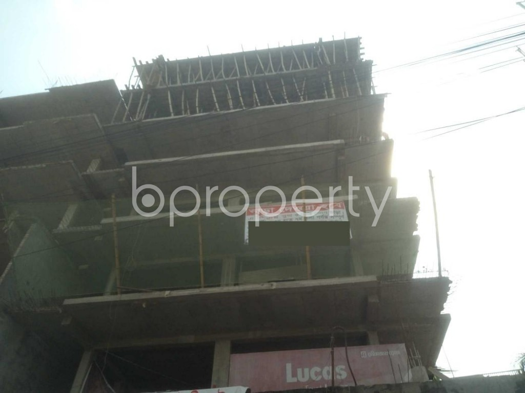 Front view - 3 Bed Apartment for Sale in Mirpur, Dhaka - 1942468