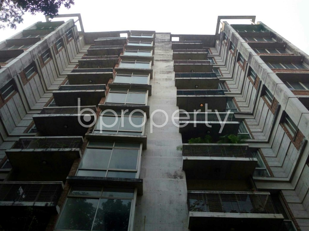 Front view - 3 Bed Apartment to Rent in Banani, Dhaka - 1942596