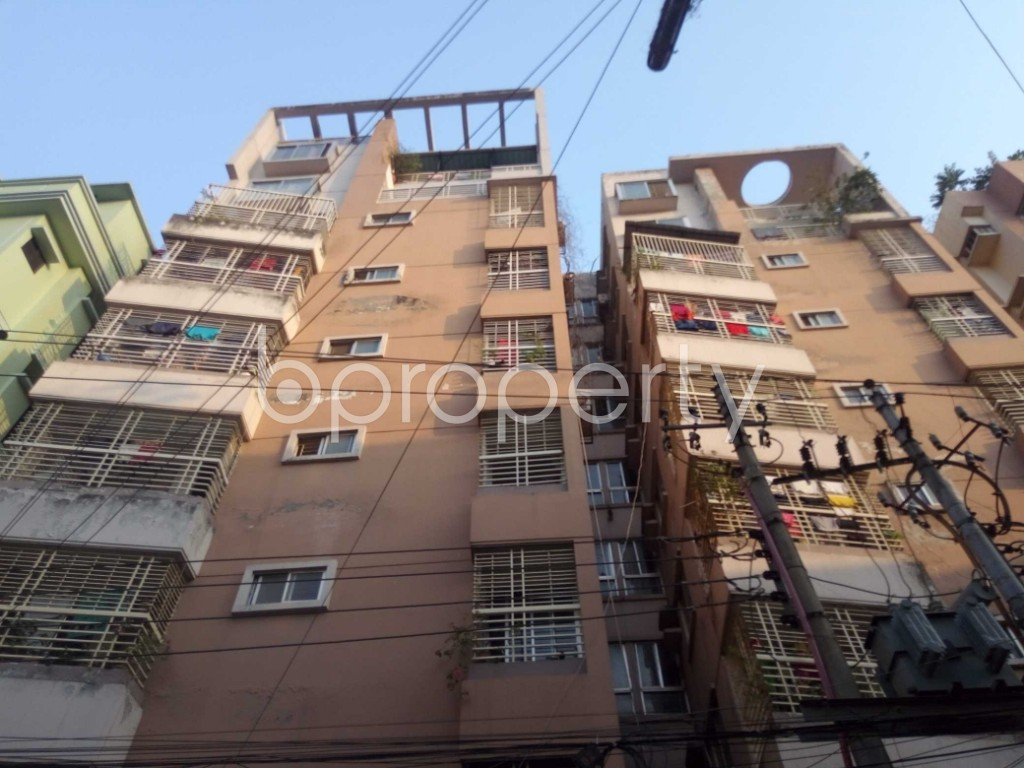 Outside view - 3 Bed Apartment for Sale in Maghbazar, Dhaka - 1942682