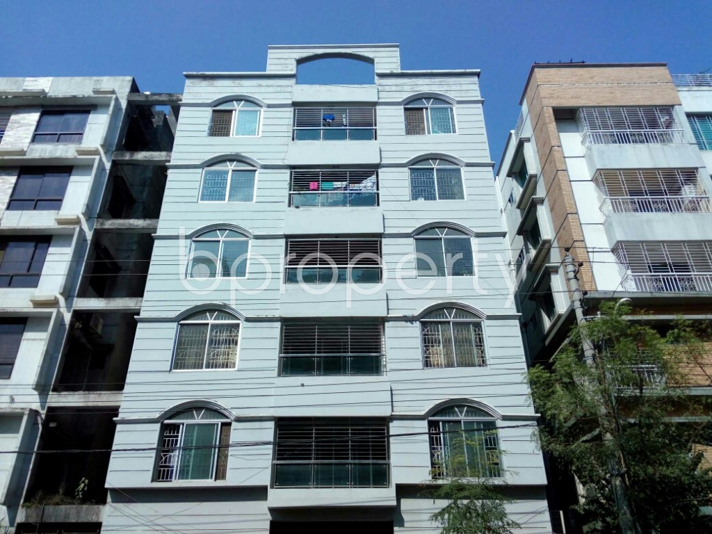 Front view - 4 Bed Apartment for Sale in Mirpur, Dhaka - 1942869