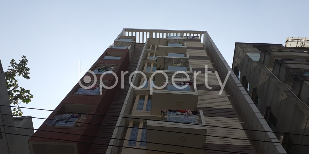 Front view - 3 Bed Apartment for Sale in Bashundhara R-A, Dhaka - 1942959
