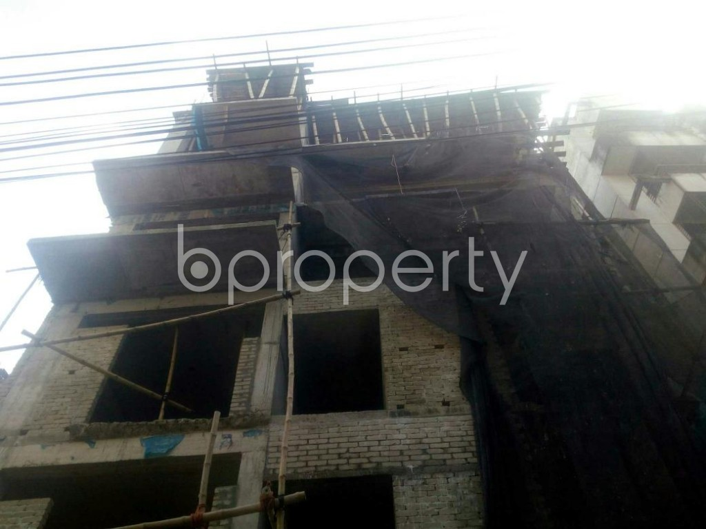 Front view - 3 Bed Apartment for Sale in Rampura, Dhaka - 1943128