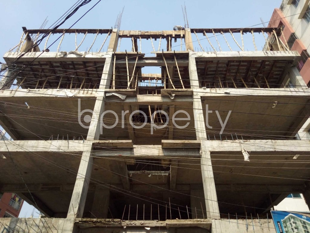 Front view - 3 Bed Apartment for Sale in Uttara, Dhaka - 1943470