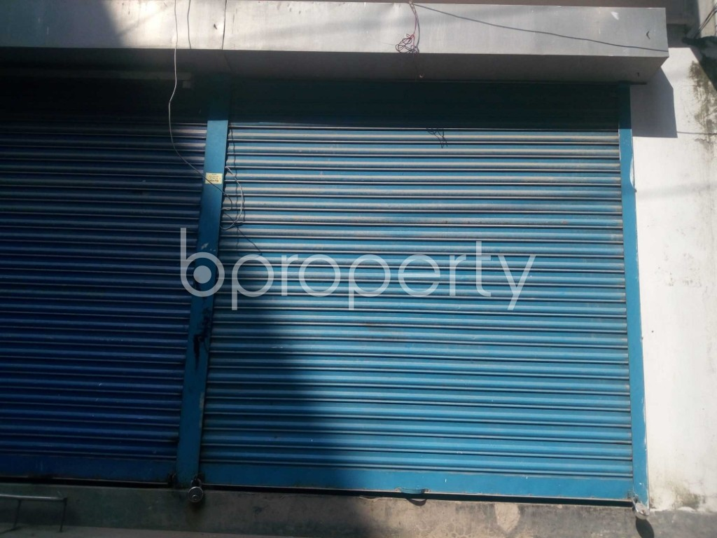 Front view - Shop to Rent in Banasree, Dhaka - 1943482