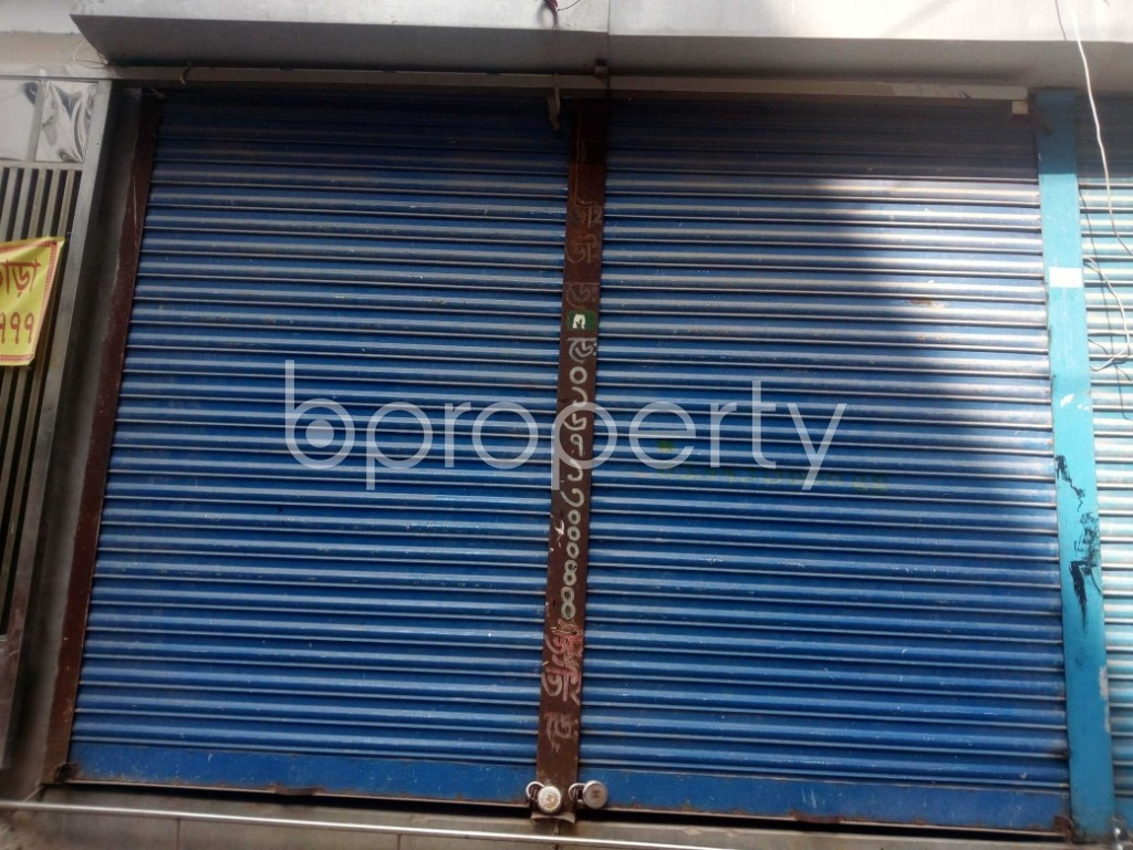 Front view - Shop to Rent in Banasree, Dhaka - 1943483