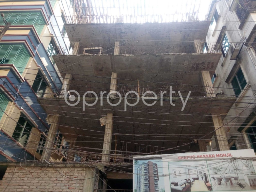 Front view - 4 Bed Apartment for Sale in Banasree, Dhaka - 1943485