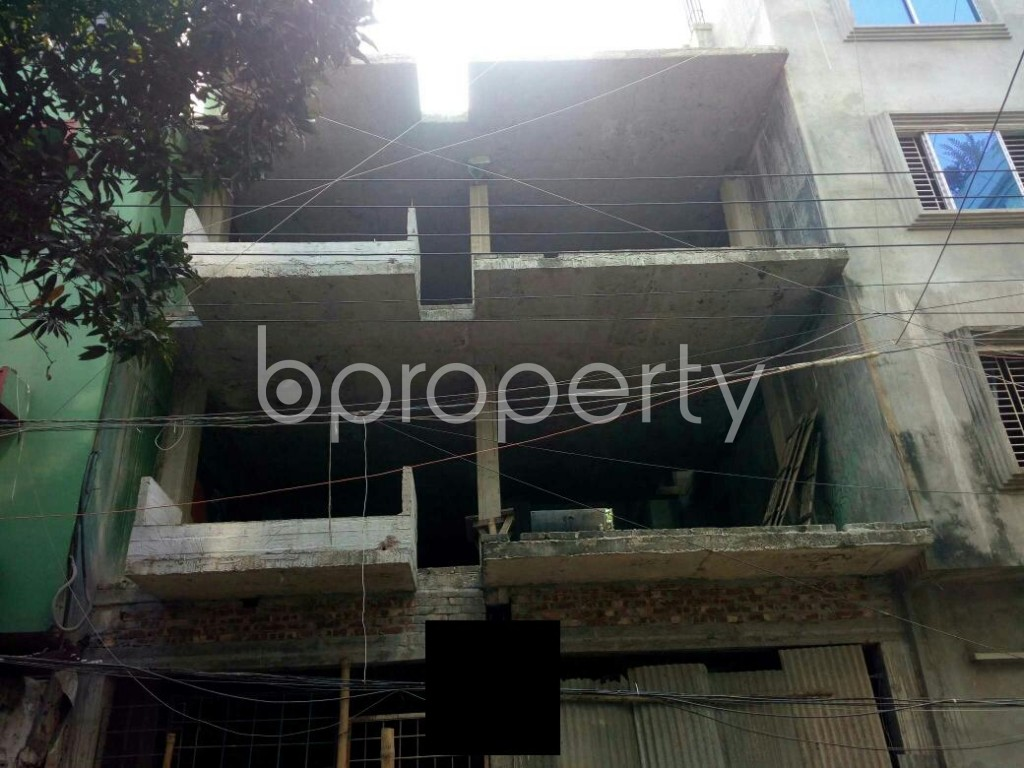 Front view - 2 Bed Apartment for Sale in Mirpur, Dhaka - 1943522