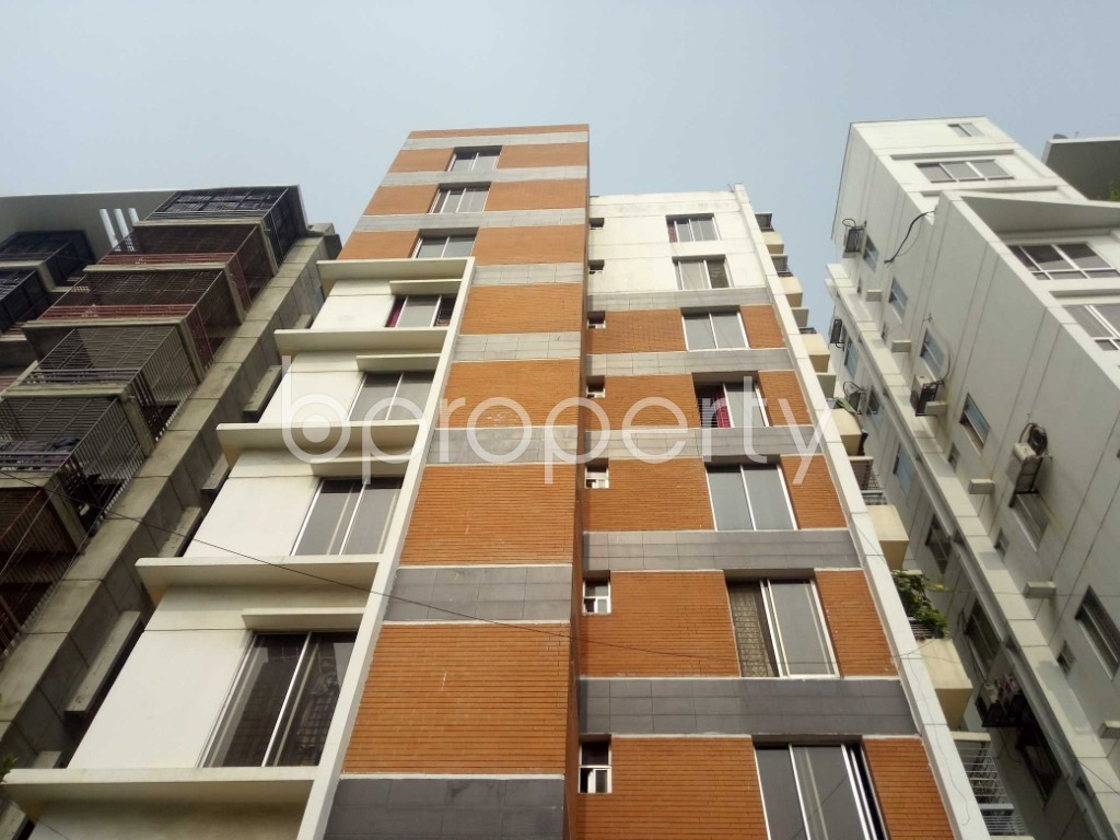 Front view - 3 Bed Apartment for Sale in Bashundhara R-A, Dhaka - 1943655