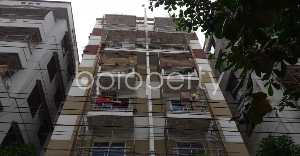 Front view - 3 Bed Apartment for Sale in Uttara, Dhaka - 1943704