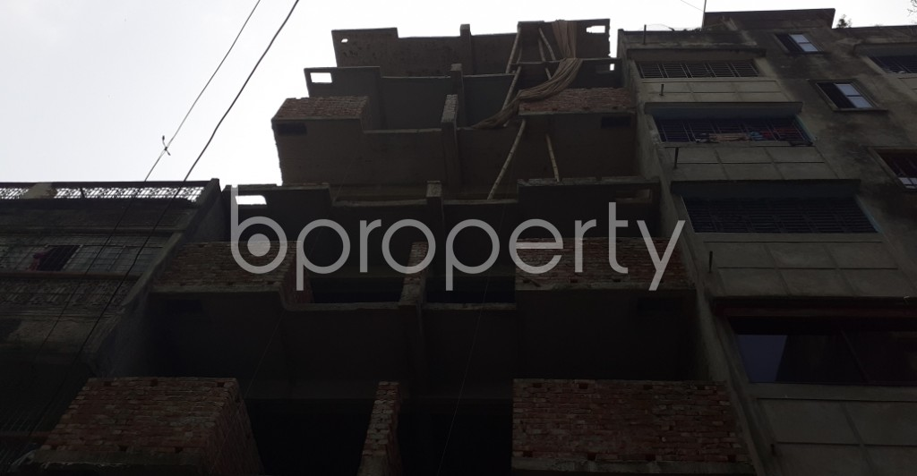 Front view - 3 Bed Apartment for Sale in Mohammadpur, Dhaka - 1943725