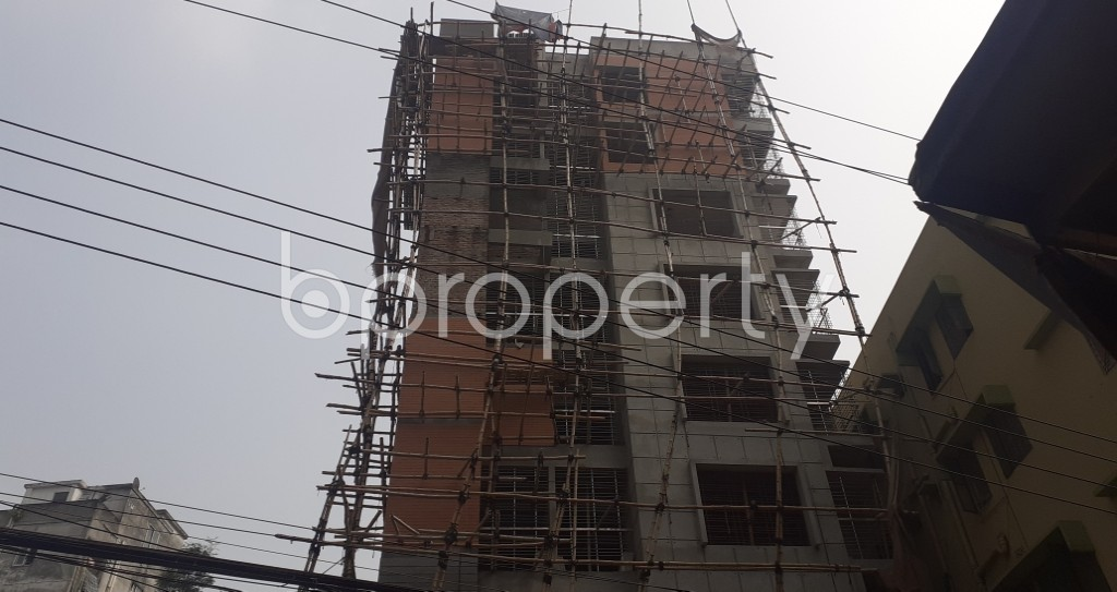 Front view - 3 Bed Apartment for Sale in Mohammadpur, Dhaka - 1943787