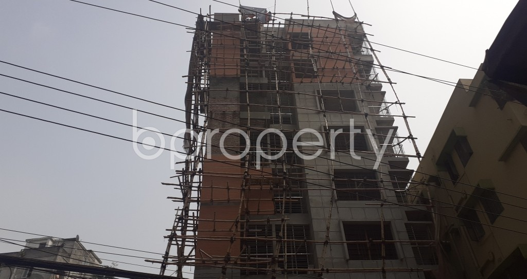 Front view - 4 Bed Apartment for Sale in Mohammadpur, Dhaka - 1943789
