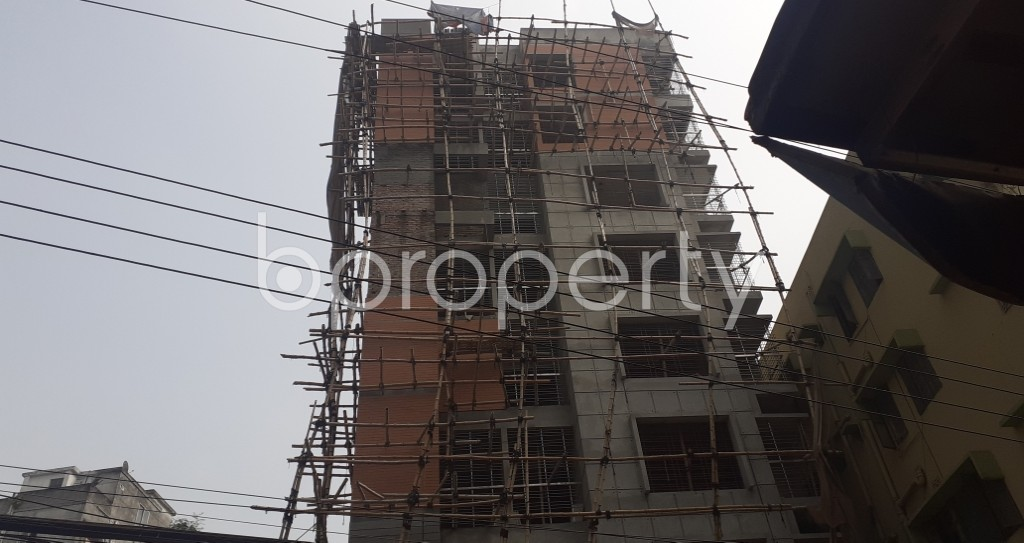 Front view - 4 Bed Apartment for Sale in Mohammadpur, Dhaka - 1943792