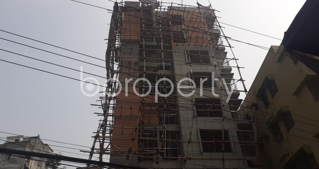 Front view - 4 Bed Apartment for Sale in Mohammadpur, Dhaka - 1943793