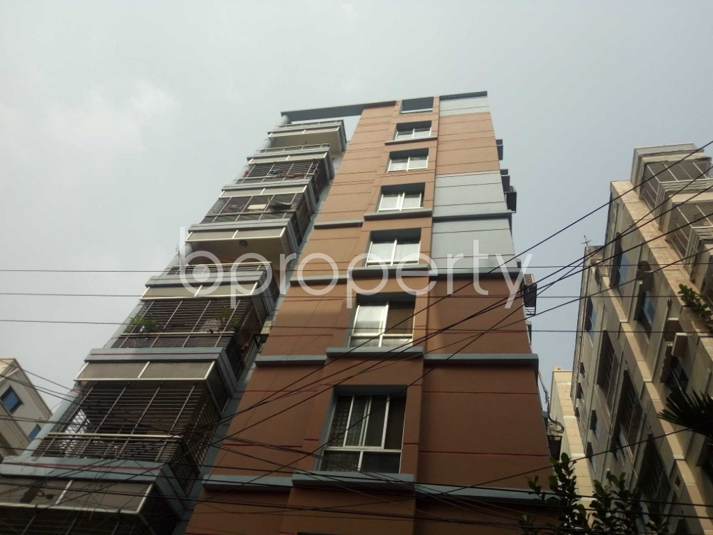 Front view - 1 Bed Apartment to Rent in Bashundhara R-A, Dhaka - 1943870