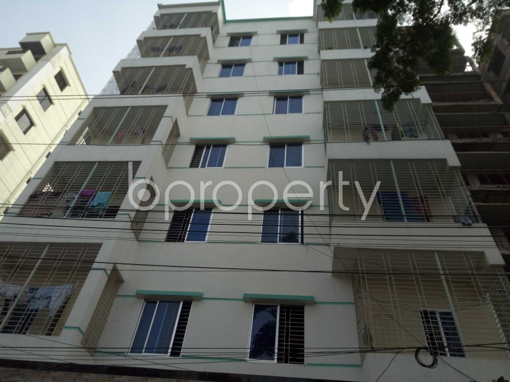 Front view - 1 Bed Apartment to Rent in Bashundhara R-A, Dhaka - 1943880