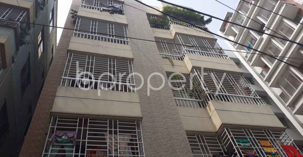 Front view - 3 Bed Apartment for Sale in Malibagh, Dhaka - 1944019