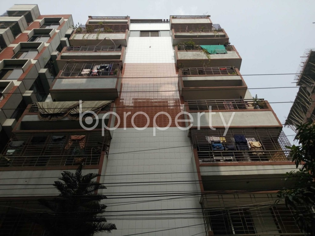 Front view - 3 Bed Apartment for Sale in Banasree, Dhaka - 1944243