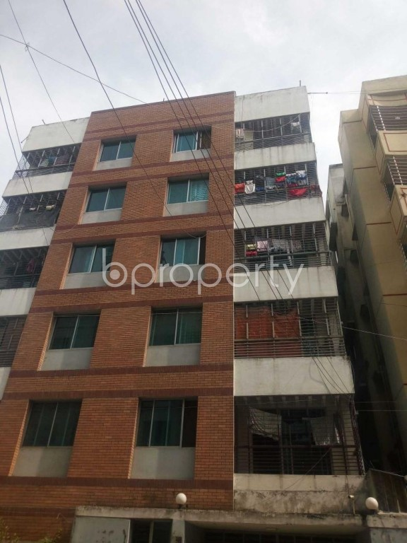 Front view - 3 Bed Apartment for Sale in Uttara, Dhaka - 1944278
