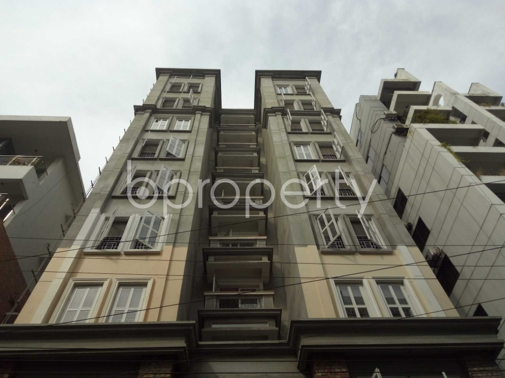 Front view - 3 Bed Apartment to Rent in Bashundhara R-A, Dhaka - 1944334