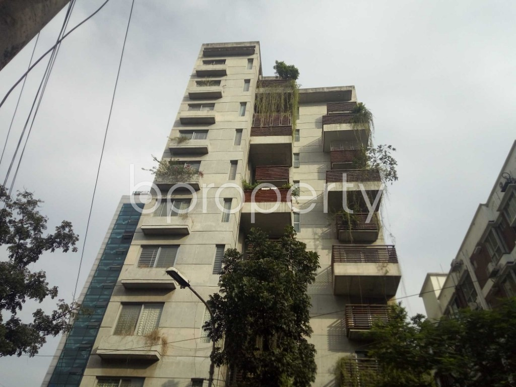 Outside view - 3 Bed Apartment to Rent in Banani, Dhaka - 1944376