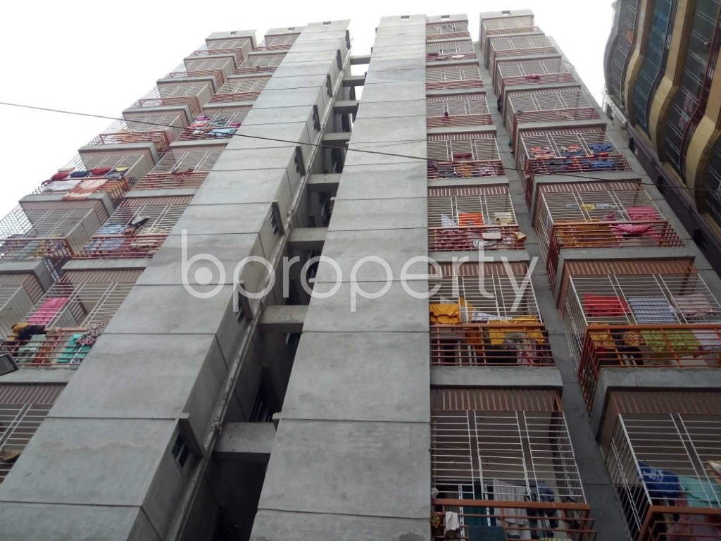 Front view - 3 Bed Apartment to Rent in Badda, Dhaka - 1944503