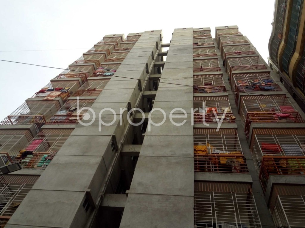 Front view - 3 Bed Apartment to Rent in Badda, Dhaka - 1944505