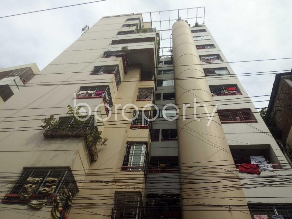 Outside view - 4 Bed Apartment to Rent in Shiddheswari, Dhaka - 1944518