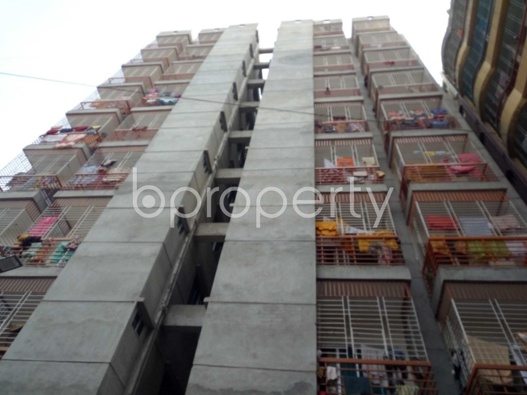 Front view - 3 Bed Apartment to Rent in Badda, Dhaka - 1944507