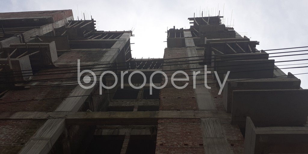 Front view - 3 Bed Apartment for Sale in Bashundhara R-A, Dhaka - 1944631
