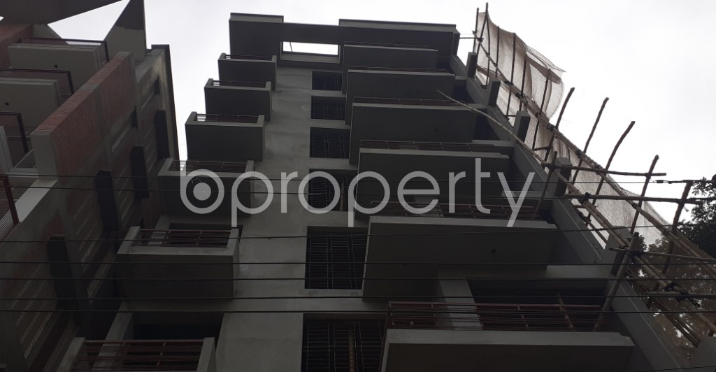 Front view - 3 Bed Apartment for Sale in Bashundhara R-A, Dhaka - 1944726