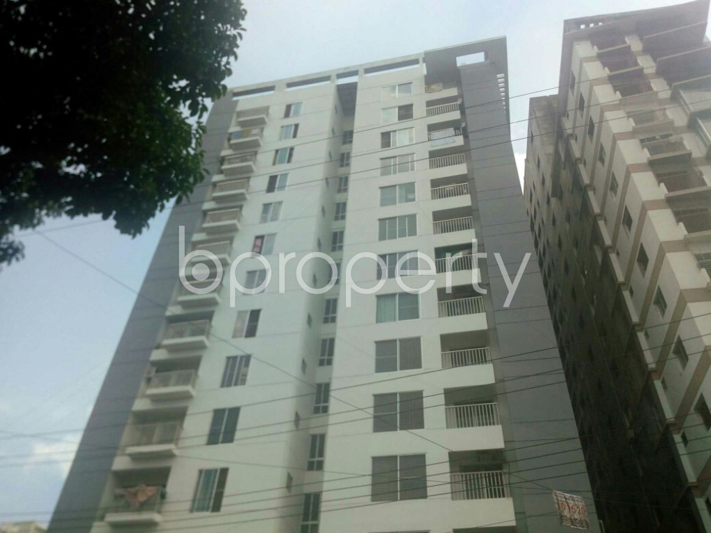 Front view - 3 Bed Apartment for Sale in 15 No. Bagmoniram Ward, Chattogram - 1944830